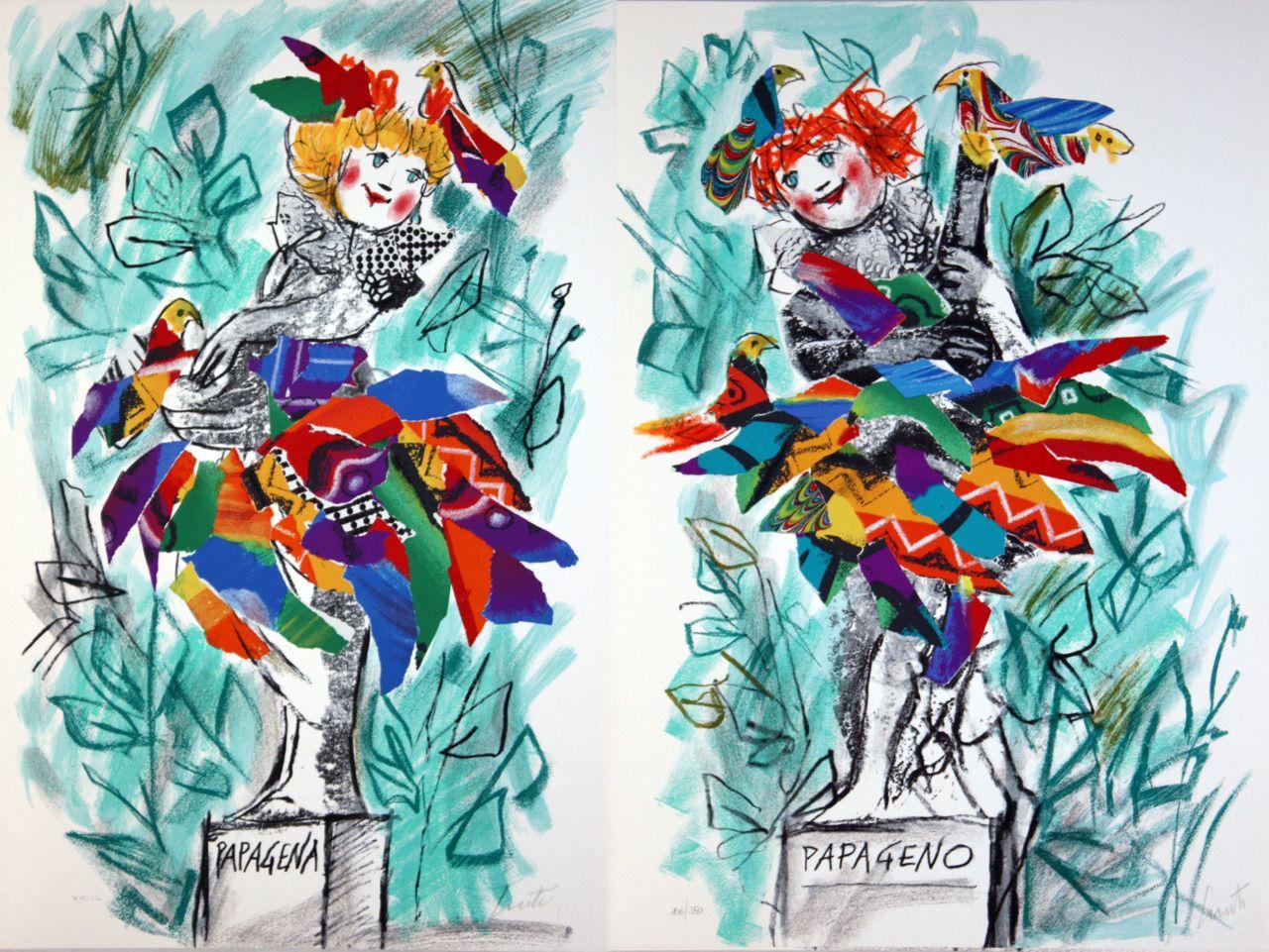 papageno e papagena